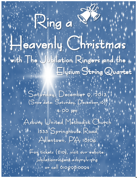 Ring a Heavenly Christmas Poster