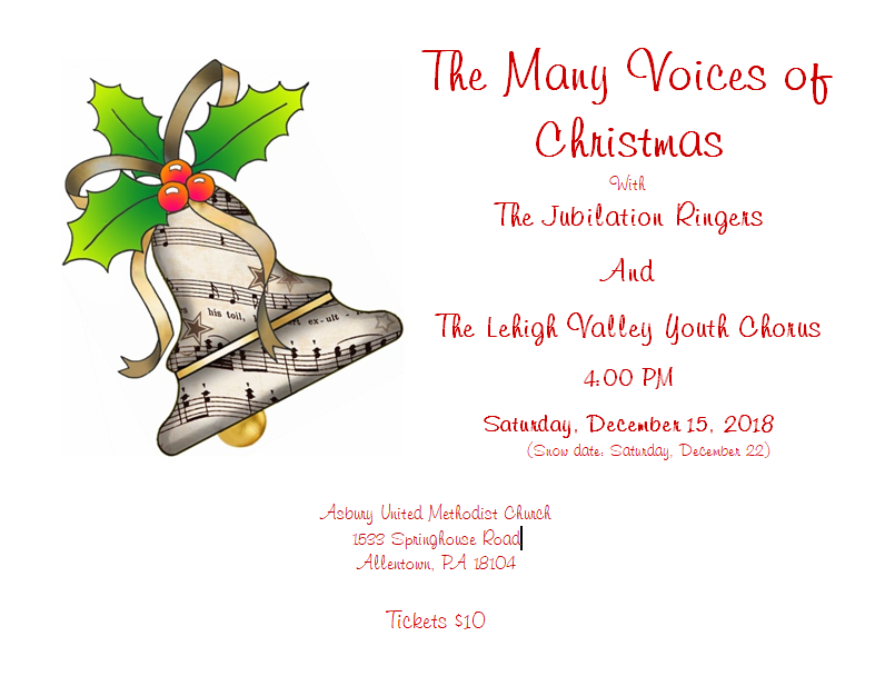 Christmas Bell Concert Poster